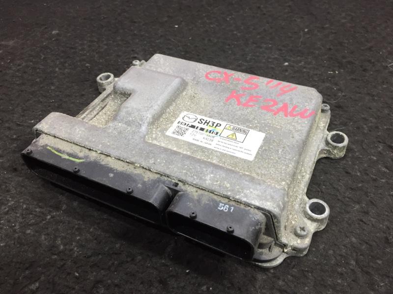Блок управления двс Mazda Cx-5 KE2AW SH 2014 275700-5508 19 ящик. (б/у)