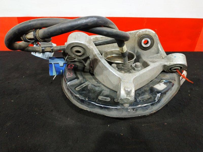 Цапфа Toyota Mark X GRX121 3GR-FSE 2005 задняя правая Трос и полуступица продаются отдельно. (б/у)