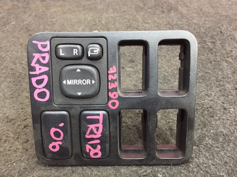 Блок управления зеркалами Toyota Land Cruiser Prado TRJ120 2TR 2007 72390 С рамкой. (б/у)