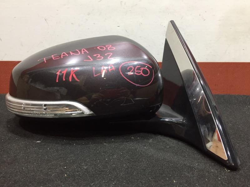 Зеркало заднего вида боковое Nissan Teana J32 VQ25 2008 правое Повторитель поворота. 11 (б/у)