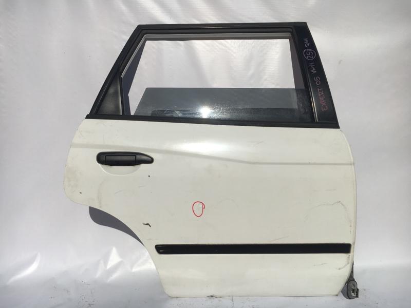 Дверь боковая Nissan Expert VW11 QG18 2005 задняя правая Дефект (см.фото). (б/у)