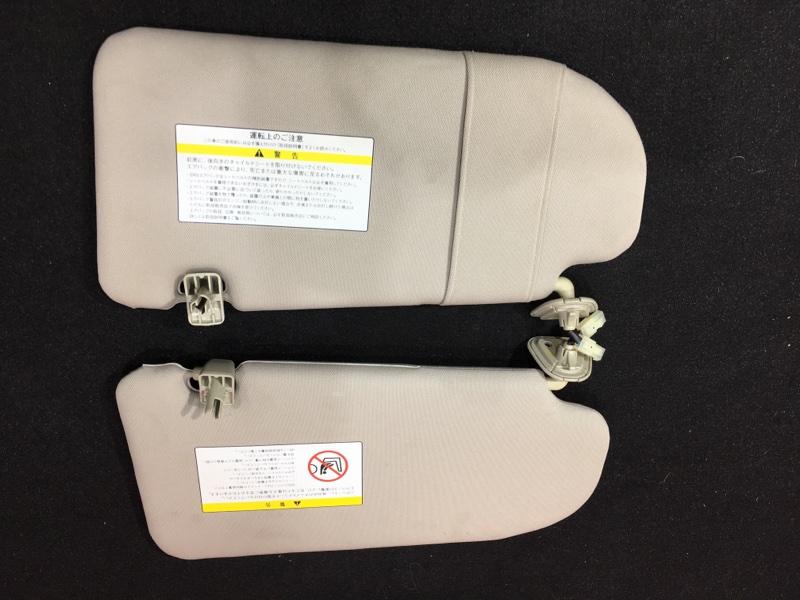 Козырек солнцезащитный Nissan Teana J32 VQ25 2008 Продаются парой. Цена за штуку. (б/у)
