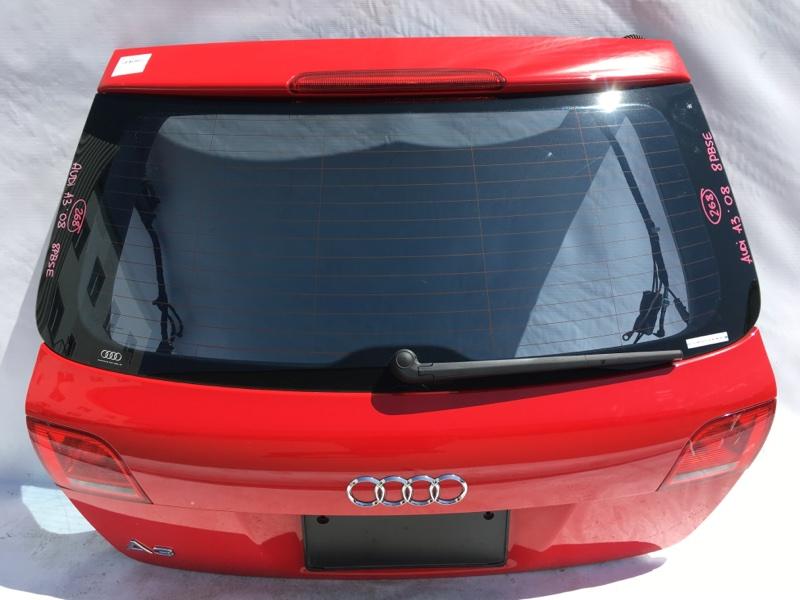 Дверь багажника Audi A3 8P BSE 2008 Снят дворник. (б/у)
