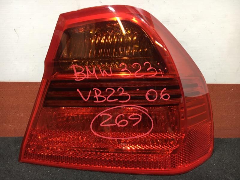 Задний фонарь Bmw 3-Series E90 N52B25A 2006 задний правый 276302 (б/у)