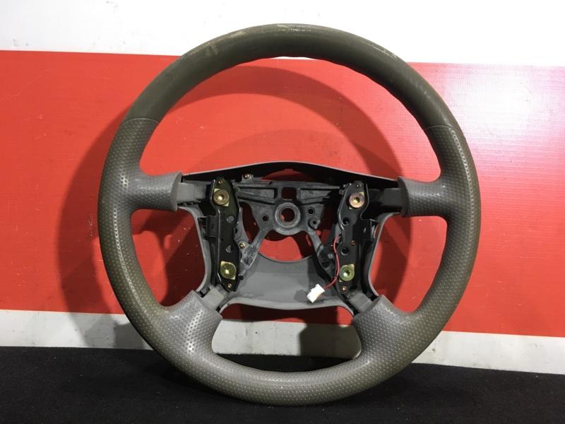 Руль Mazda Premacy CP8W FP 2004 Есть потертости см. фото. (б/у)