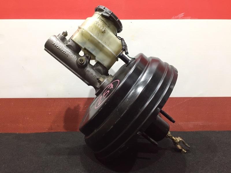 Вакуумный усилитель тормозов Honda Stepwgn RF2 B20B 2000 Правый руль. ГТЦ + вакуумный (б/у)