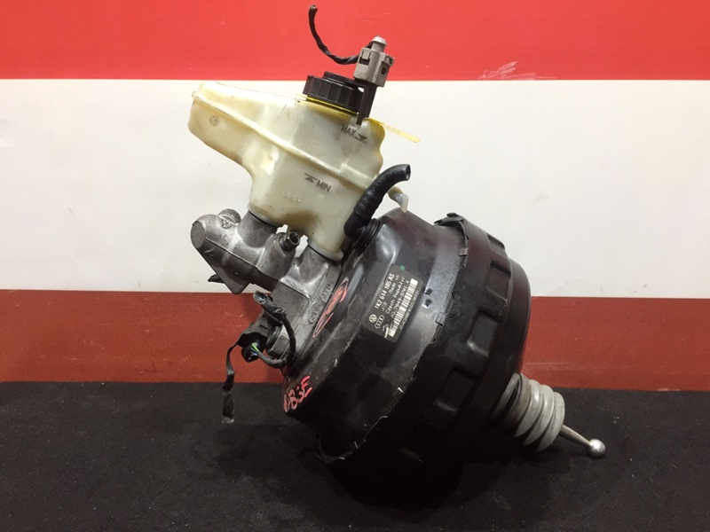 Вакуумный усилитель тормозов Audi A3 8P BSE 2008 Правый руль. ГТЦ + вакуумный (б/у)