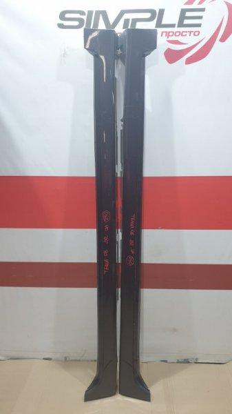 Порог пластиковый Nissan Teana J32 VQ25 2008 Продаются парой, цена за пару. (б/у)