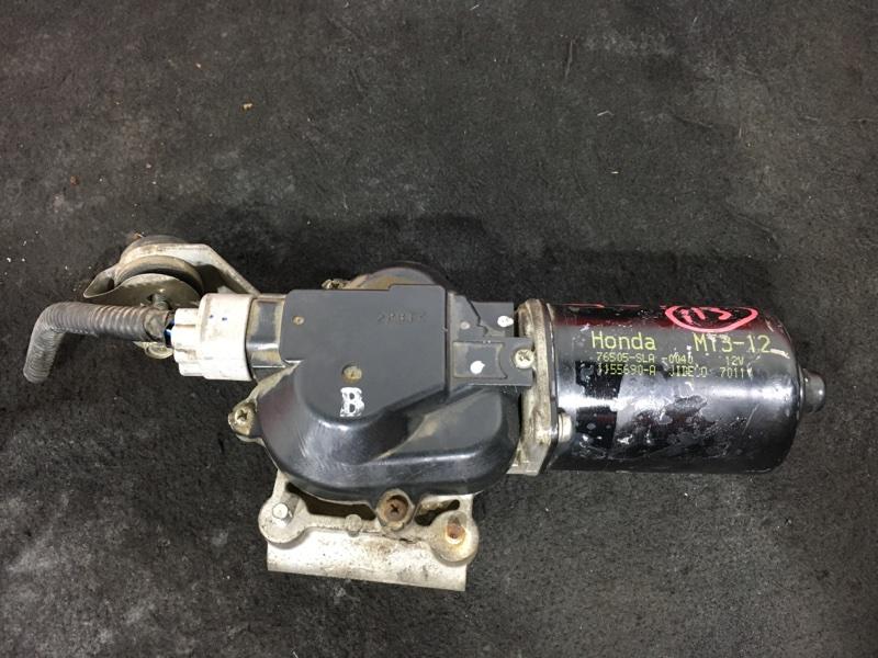 Мотор стеклоочистителя Honda Airwave GJ1 L15A 2007 передний (б/у)