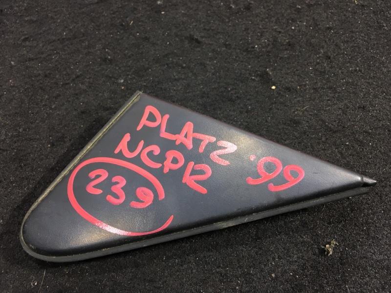 Уголок двери Toyota Platz NCP12 1NZ 1999 передний правый (б/у)