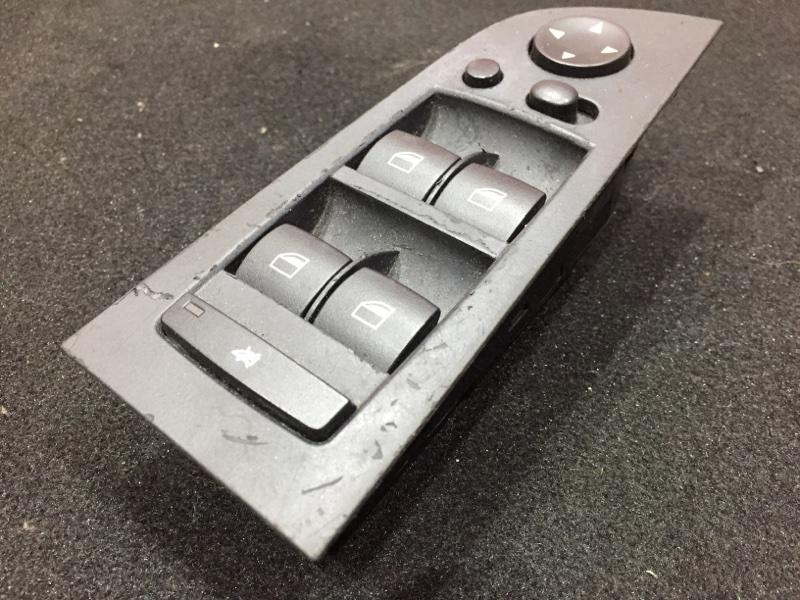 Блок управления стеклоподъемниками Bmw 3-Series E90 N52B25A 2006 Правый руль. (б/у)