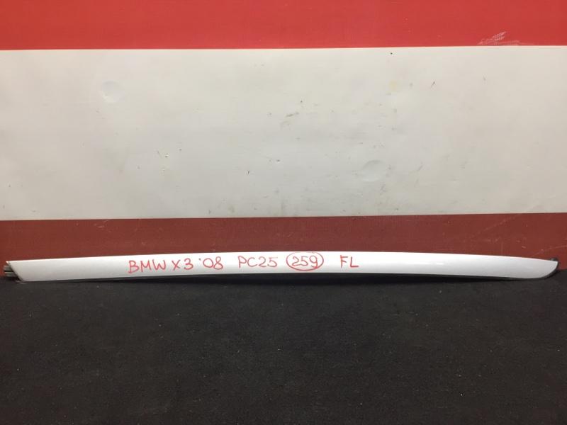 Молдинг лобового стекла Bmw X3 E83 N52B25A 2008 передний левый (б/у)