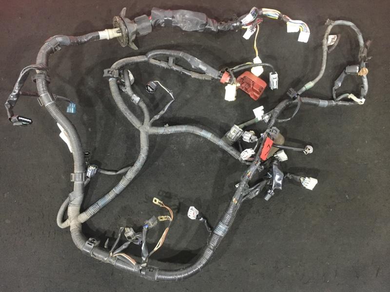Проводка двс Toyota Corolla Fielder NZE121 1NZ 2003 Под механический дроссель. (б/у)