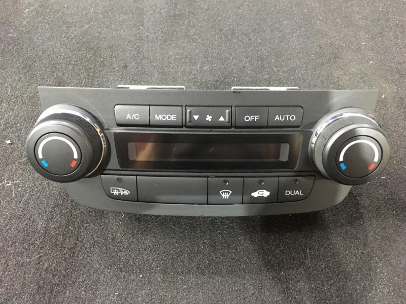 Блок управления климат-контролем Honda Cr-V RE4 K24A 2008 Есть дефект (см. фото). (б/у)