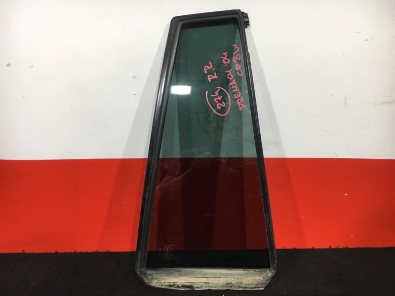 Форточка двери Mazda Premacy CP8W FP 2004 задняя правая (б/у)