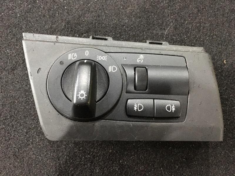 Блок управления светом Bmw X3 E83 N52B25A 2008 Продается в сборе как на фото. (б/у)