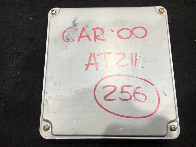 Блок управления двс Toyota Carina AT211 7A 2000 175300-0833 47 ящик. (б/у)