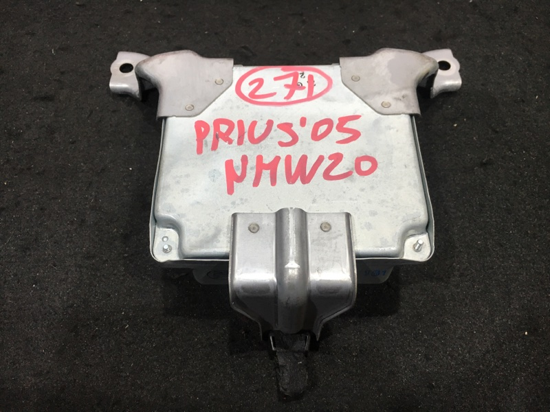 Блок управления акпп Toyota Prius NHW20 1NZ-FXE 2005 079100-1612 47 ящик. (б/у)