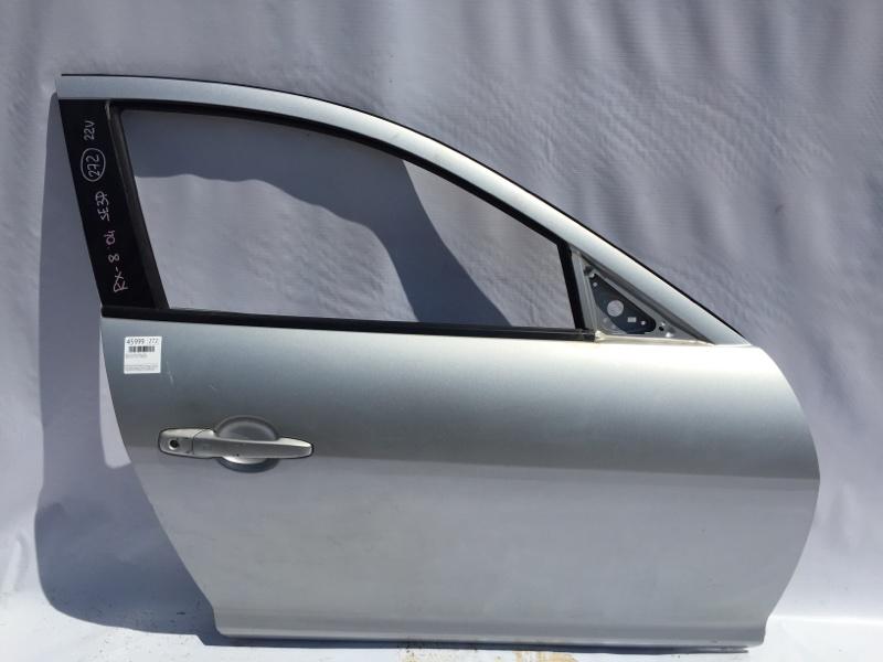Стекло боковое Mazda Rx-8 SE3P 13B 2004 переднее правое (б/у)