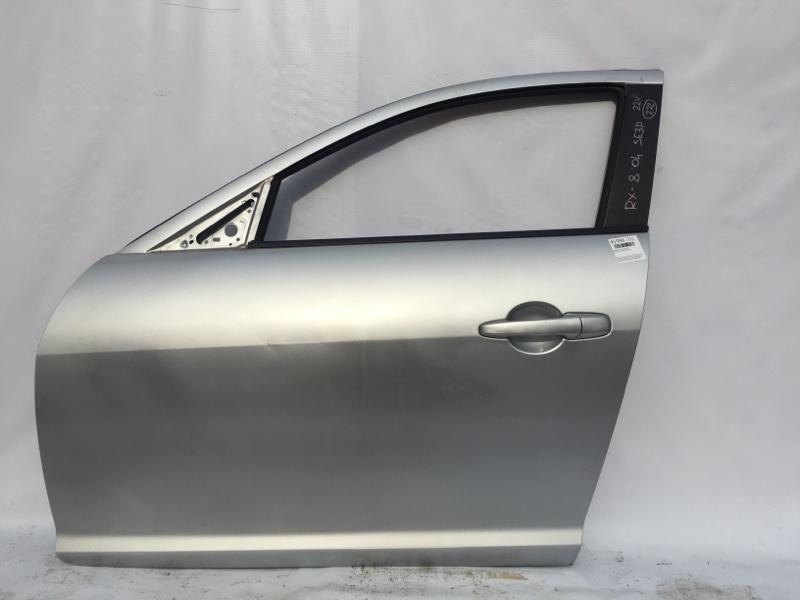 Стекло боковое Mazda Rx-8 SE3P 13B 2004 переднее левое (б/у)