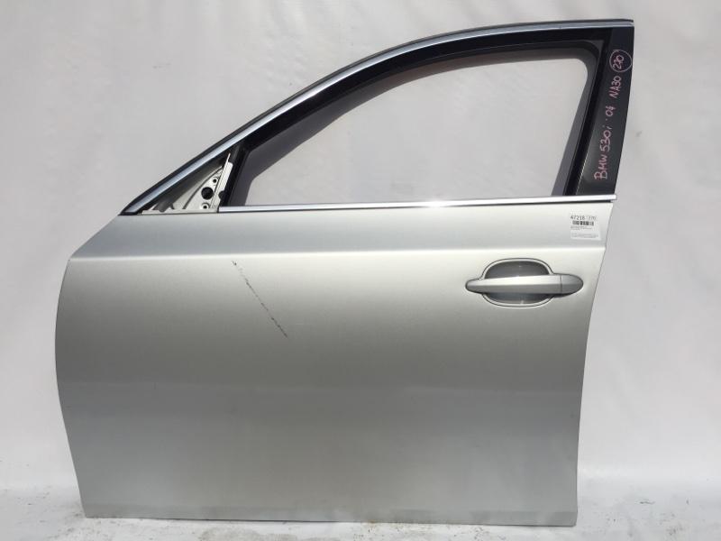 Ручка двери Bmw 5-Series E60 M54B30 2004 передняя левая 51216961444 (б/у)