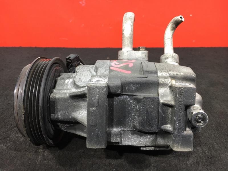 Компрессор кондиционера Toyota Vitz SCP10 1SZ 2000 (б/у)