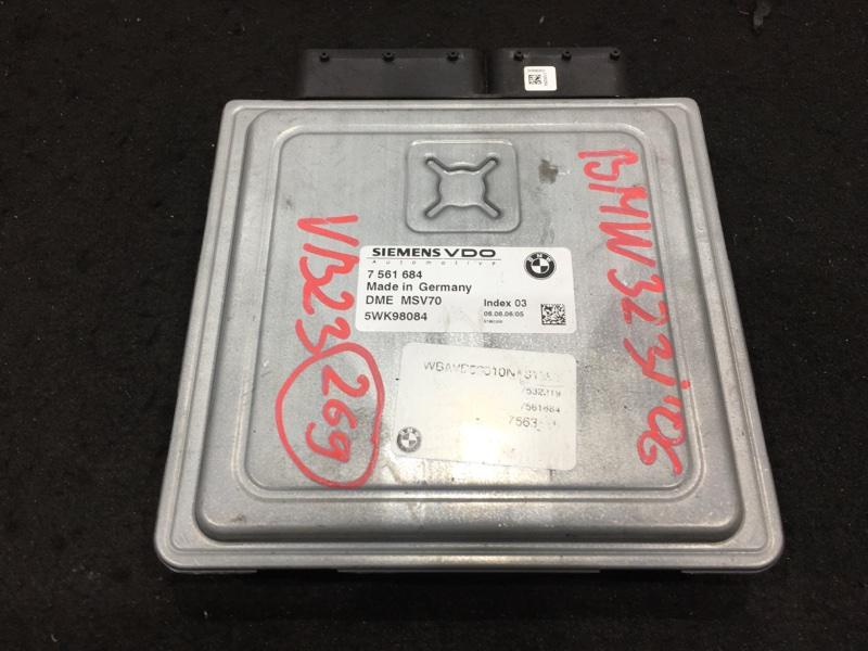 Блок управления двс Bmw 3-Series E90 N52B25A 2006 7561684 48 ящик. (б/у)