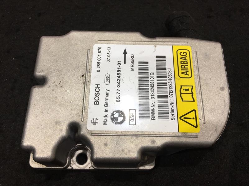 Блок управления airbag Bmw X3 E83 N52B25A 2008 6577342458101 48 ящик. (б/у)
