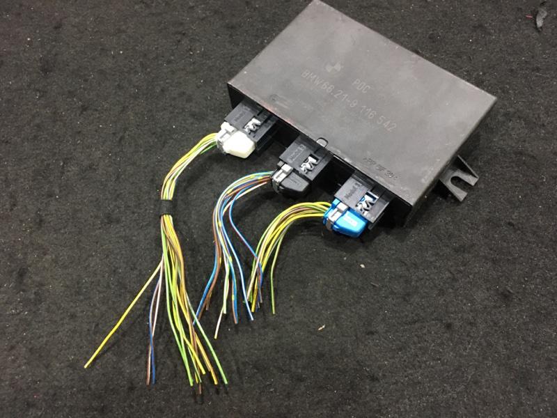 Блок управления парктроником Bmw X3 E83 N52B25A 2008 48 ящик. (б/у)