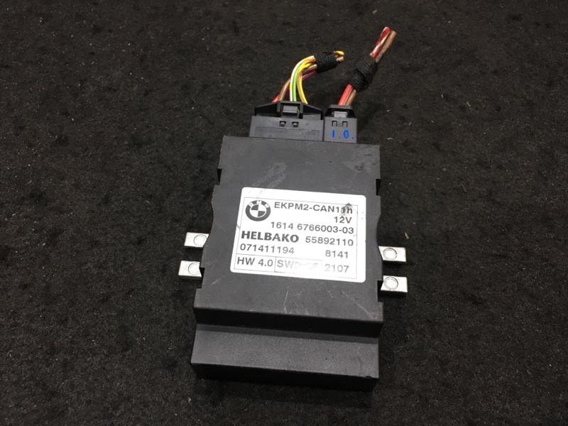Блок управления топливным насосом Bmw X3 E83 N52B25A 2008 16146766003-03, 55892110 48 ящик. (б/у)