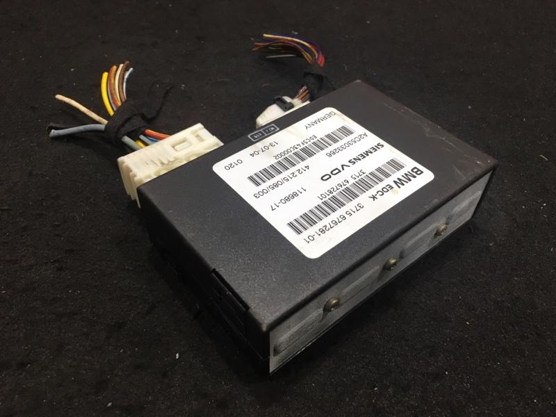 Блок управления подвеской Bmw 7-Series E65 N62B44A 2004 3715676728101, 37146779672 48 ящик. (б/у)