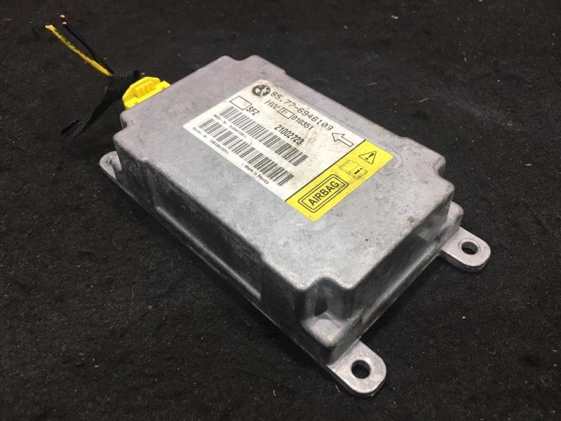 Блок управления airbag Bmw 7-Series E65 N62B44A 2004 48 ящик. (б/у)