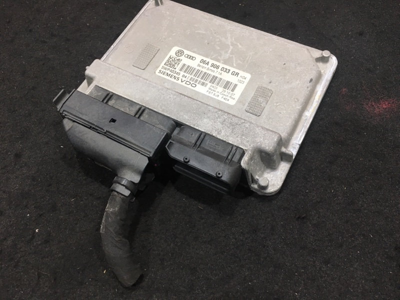 Блок управления двс Audi A3 8P BSE 2008 06A997034SX 48 ящик. (б/у)