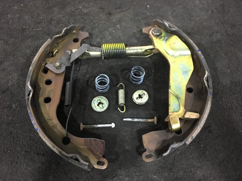 Рабочая тормозная система Toyota Funcargo NCP20 2NZ 2002 задняя правая (б/у)