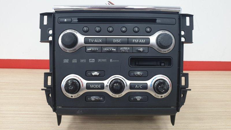Блок управления климат-контролем Nissan Teana J32 VQ25 2008 В сборе с магнитолой. (б/у)