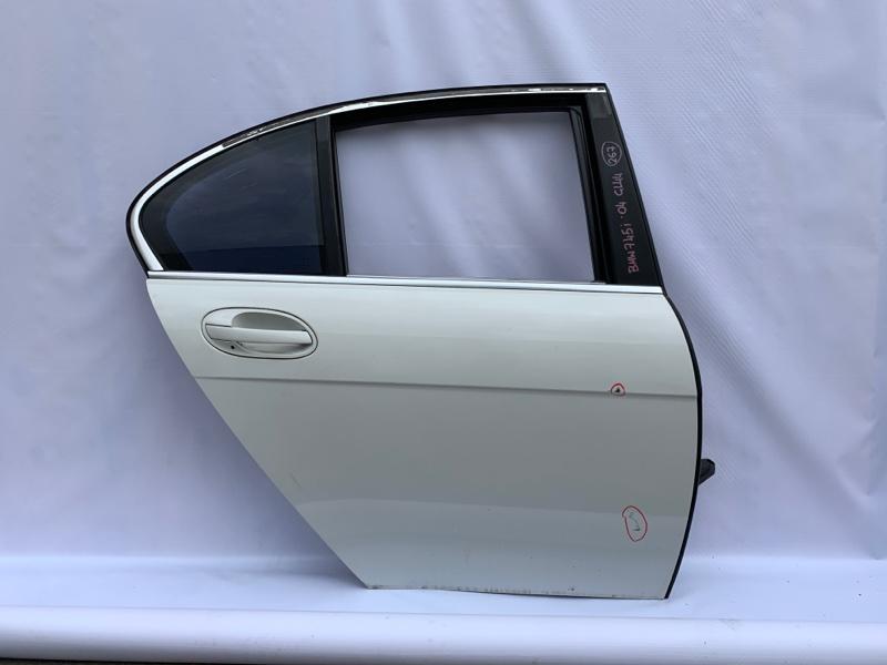 Ручка двери Bmw 7-Series E65 N62B44A 2004 задняя правая (б/у)