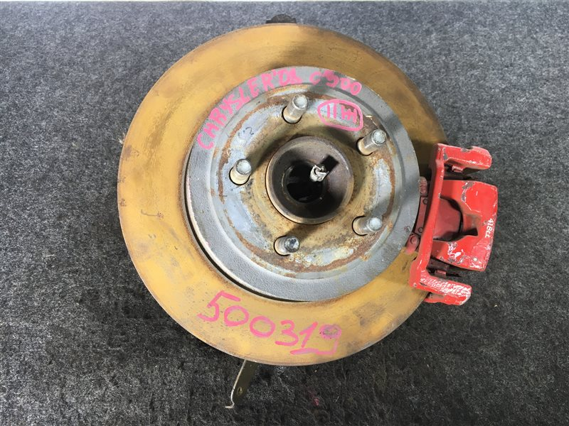 Диск тормозной Chrysler 300C 5H164043 59K112410413 2008 задний левый 500319 (б/у)