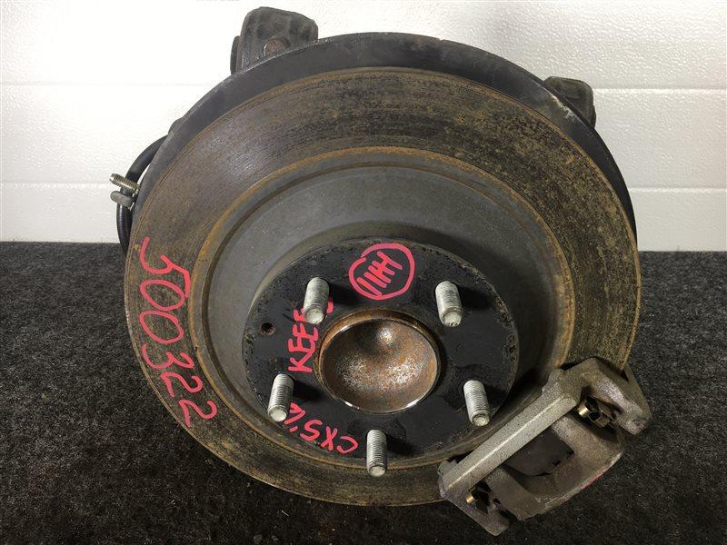 Диск тормозной Mazda Cx-5 KEEFW PE 2012 задний правый 500322 (б/у)