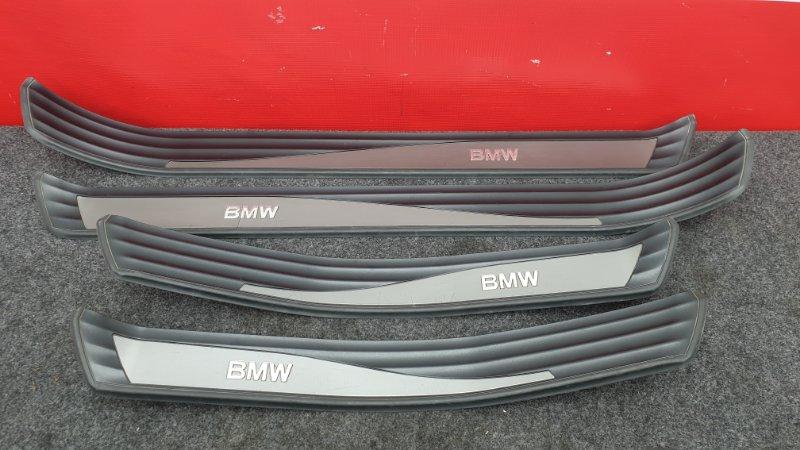 Накладка на порог Bmw 5-Series E60 M54B30 2004 51477034304 Цена за комплект. Продаётся (б/у)