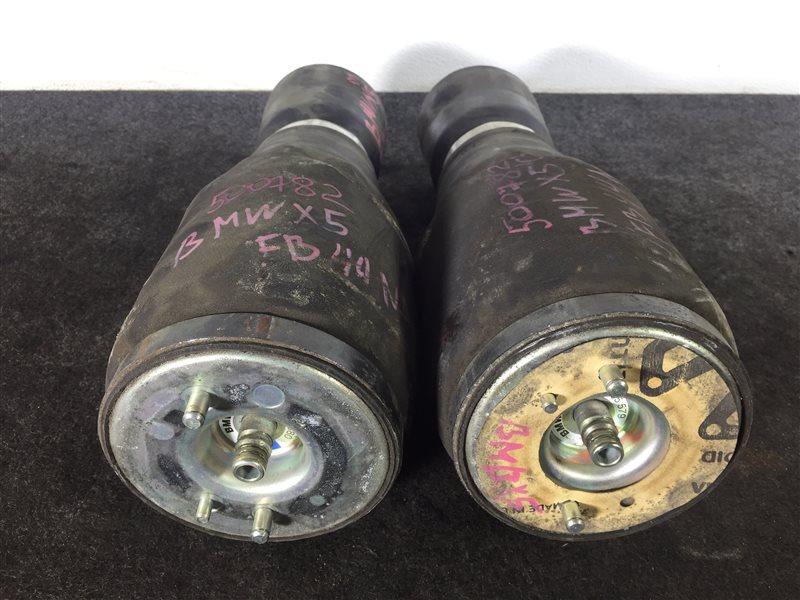 Подушка пневмоподвески Bmw X3 E83 M54 2003 задняя левая 500781 Продаются парой. Цена (б/у)