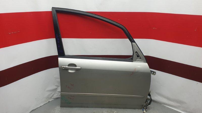 Дверь боковая Toyota Corolla Spacio NZE121 1ZZ передняя правая Снято стекло, стеклоподъемник, (б/у)