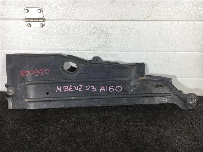 Защита днища кузова Mercedes-Benz A-Class W168 16696030698667 2003 задняя правая 500950 (б/у)