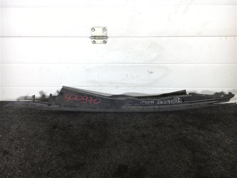 Накладка на крыло Lexus Gs450H GWS191 2GRFSE 2007 правая 500970 (б/у)