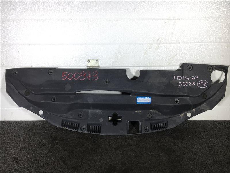 Дефлектор радиатора Lexus Is250 GSE25 4GR 2007 500973 (б/у)