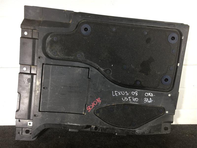 Защита днища кузова Lexus Ls460 USF40 1UR 2008 правая 501018 (б/у)