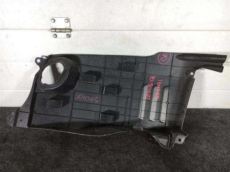 Крышка двигателя Lexus Gs350 GRS191 2GRFSE 2006 501076 (б/у)