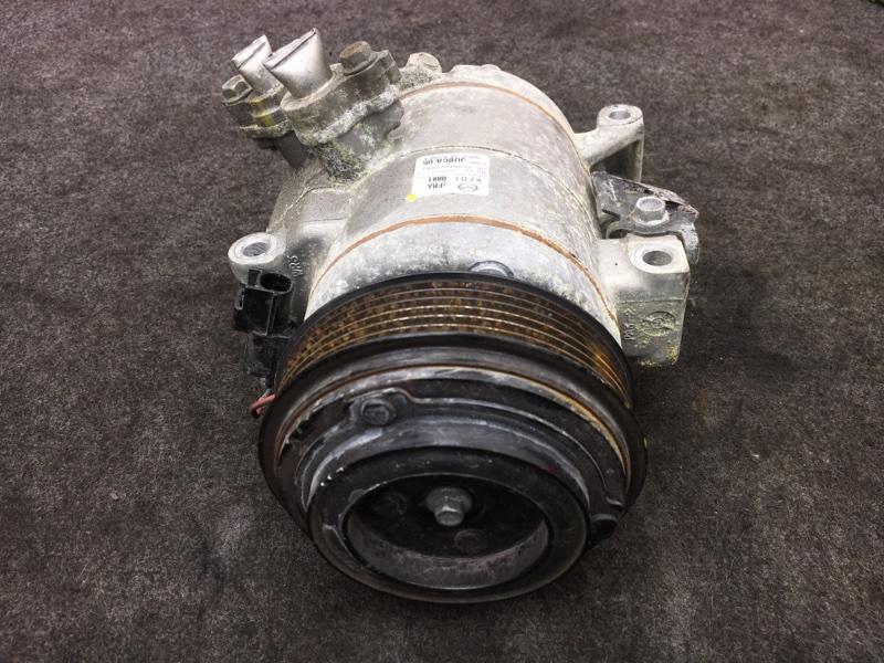 Компрессор кондиционера Mazda Cx-5 KE2AW SH 2014 F500JUBCA05 (б/у)