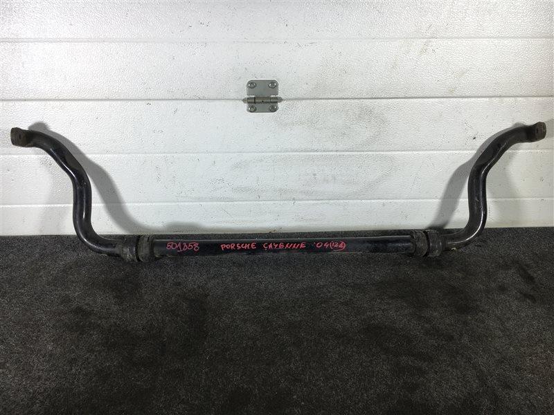 Стабилизатор поперечной устойчивости Porsche Cayenne 955 M48 0081402781 2004 передний 501358 (б/у)
