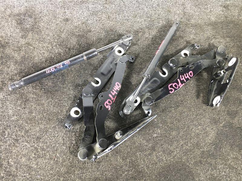 Крепление крышки багажника Audi A6 4F2 BDX 2008 501440 Продаются парой. (б/у)