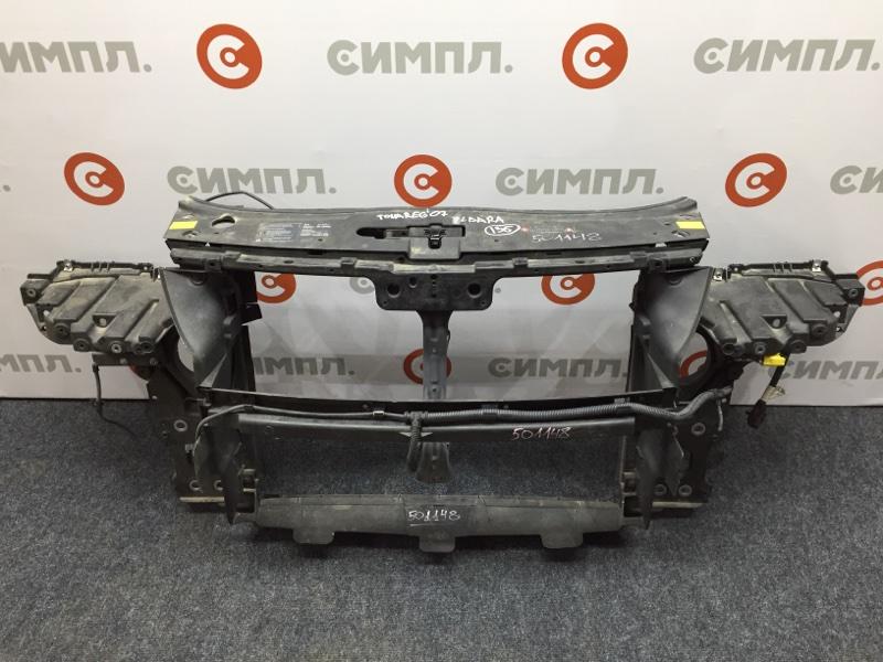Рамка радиатора Volkswagen Touareg 7LA 4200 CC BARA 2007 501148 (б/у)